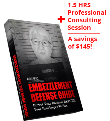 Defend against employee embezzlement with guide and support